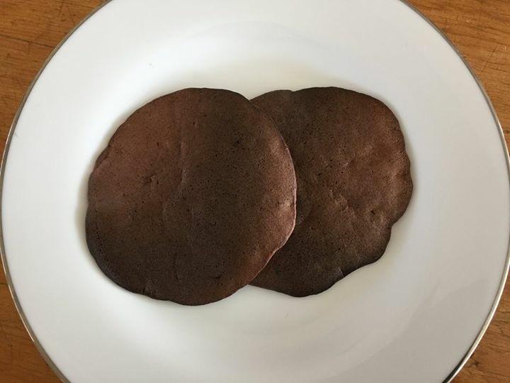 純カカオのバナナパンケーキ