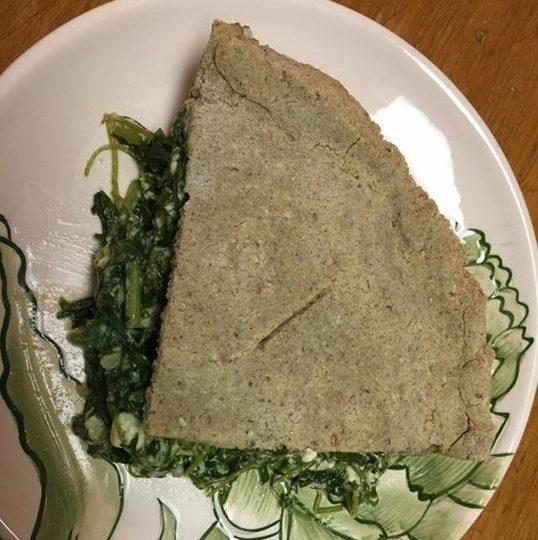 美味しかった♪目分量でつくるグリーン・パイ